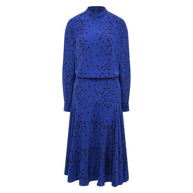 Шелковое платье Kenzo