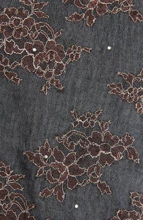 Женская кашемировая шаль VINTAGE SHADES светло-голубого цвета, арт. 13954   Фото 2