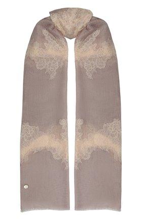 Женская кашемировая шаль VINTAGE SHADES светло-розового цвета, арт. 14035   Фото 1