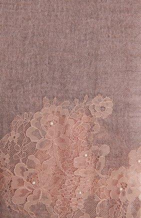 Женская кашемировая шаль VINTAGE SHADES розового цвета, арт. 14035   Фото 2