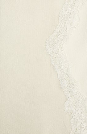 Женская шерстяная шаль VINTAGE SHADES светло-серого цвета, арт. 14038B   Фото 2