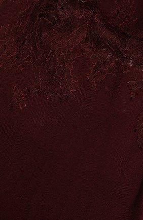 Женская шерстяная шаль VINTAGE SHADES бордового цвета, арт. 4286   Фото 2