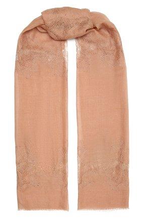 Женская шерстяная шаль VINTAGE SHADES розового цвета, арт. 4286   Фото 1