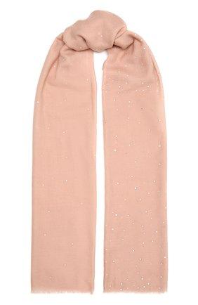 Женская шерстяная шаль VINTAGE SHADES розового цвета, арт. 8841D   Фото 1