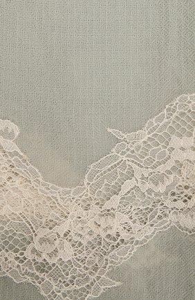 Женская шерстяная шаль VINTAGE SHADES зеленого цвета, арт. 8999   Фото 2