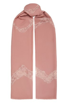 Женская шерстяная шаль VINTAGE SHADES розового цвета, арт. 8999   Фото 1