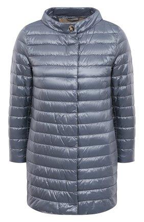 Женская пуховая куртка HERNO голубого цвета, арт. PI0767DIC/12017 | Фото 1