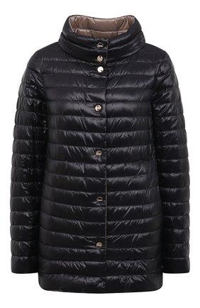 Женская пуховая куртка HERNO черного цвета, арт. PI1234D/12017 | Фото 1