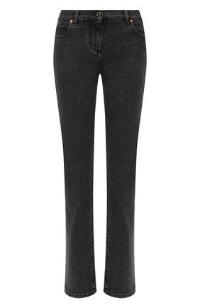 Женские джинсы VALENTINO черного цвета, арт. VB3DD11G67N | Фото 1