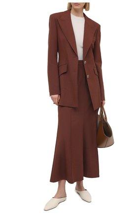 Женский пуловер BRUNELLO CUCINELLI кремвого цвета, арт. M41822900 | Фото 2