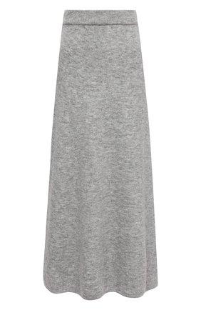 Женская юбка NANUSHKA серого цвета, арт. RAZI_HEATHER GREY_FLUFFY KNIT | Фото 1