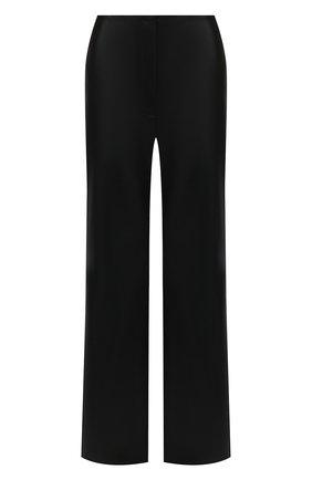Женские брюки NANUSHKA черного цвета, арт. RHYAN_BLACK_VEGAN LEATHER | Фото 1