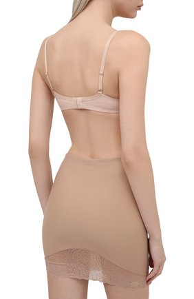 Женские корректирующая юбка-шорты SIMONEPERELE бежевого цвета, арт. 16R943 | Фото 3