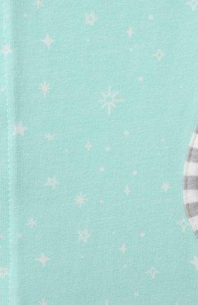 Детский хлопковый комбинезон-мешок LOVE TO DREAM светло-зеленого цвета, арт. L10 02 030 MNT M   Фото 3