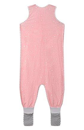 Детский хлопковый комбинезон LOVE TO DREAM розового цвета, арт. L40 16 088 PNK 4Y | Фото 2