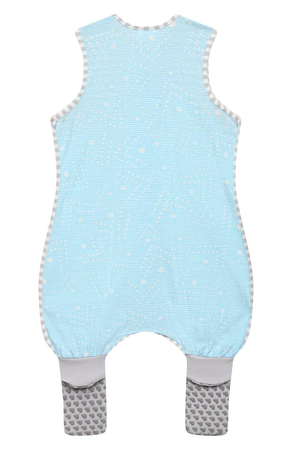Детский хлопковый комбинезон LOVE TO DREAM голубого цвета, арт. L40 16 088 BLU 24M | Фото 2