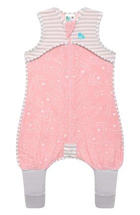 Детский хлопковый комбинезон LOVE TO DREAM розового цвета, арт. L40 16 088 PNK 12M | Фото 1