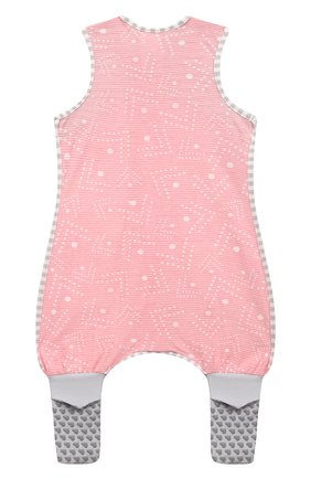 Детский хлопковый комбинезон LOVE TO DREAM розового цвета, арт. L40 16 088 PNK 12M | Фото 2