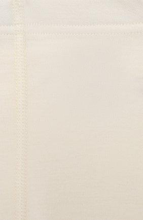 Детская комплект из лонгслива и брюк WOOL&COTTON бежевого цвета, арт. BJGFPK   Фото 7