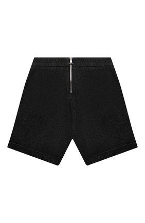 Детские джинсовые шорты BALMAIN черного цвета, арт. 6M6169 | Фото 2