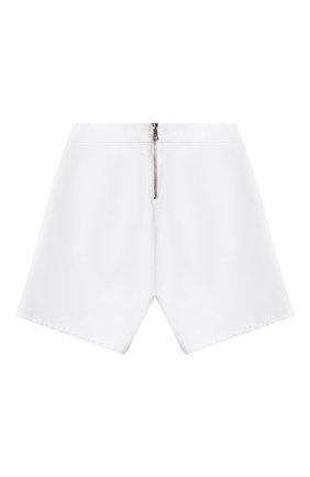 Детские джинсовые шорты BALMAIN белого цвета, арт. 6M6169 | Фото 2