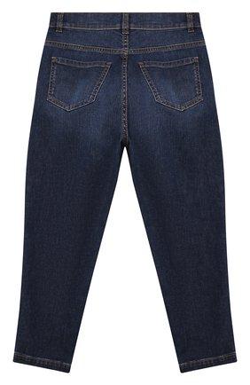 Детские джинсы BALMAIN синего цвета, арт. 6O6180 | Фото 2