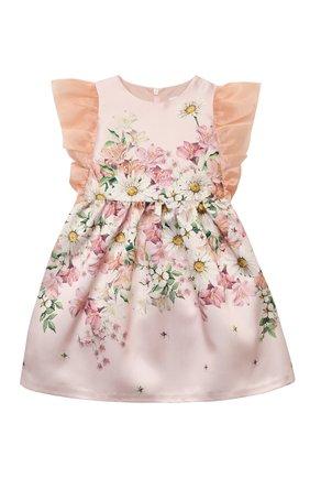 Детское платье EIRENE светло-розового цвета, арт. 2103   Фото 1