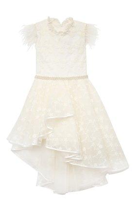 Детское платье EIRENE белого цвета, арт. 2106 | Фото 1
