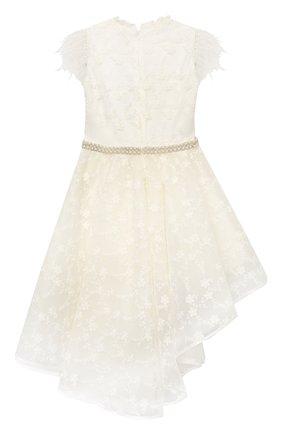 Детское платье EIRENE белого цвета, арт. 2106 | Фото 2