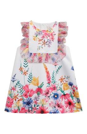 Детское платье EIRENE белого цвета, арт. 2144 | Фото 1
