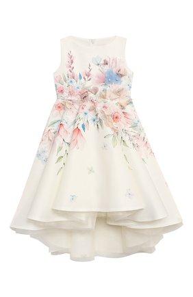 Детское платье EIRENE белого цвета, арт. E2113   Фото 1