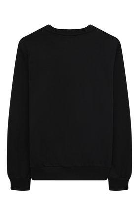 Детский хлопковый свитшот VERSACE черного цвета, арт. 1000198/1A00155/8A-14A | Фото 2