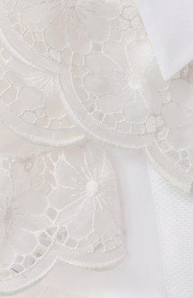 Женский комплект из платья и шорт DOLCE & GABBANA белого цвета, арт. L22DQ9/G7XUG   Фото 3