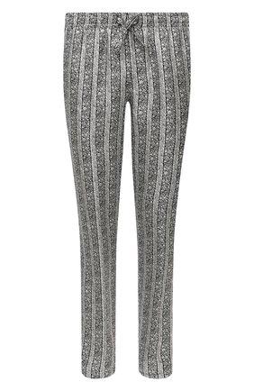 Мужские шелковые брюки DOLCE & GABBANA серого цвета, арт. GYB0HT/IS1HB | Фото 1