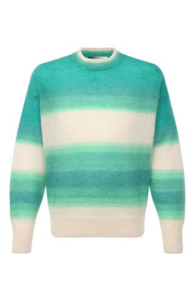 Мужской свитер ISABEL MARANT зеленого цвета, арт. PU1275-21P061H/DRUSSELLH | Фото 1