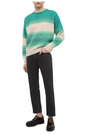 Мужской свитер ISABEL MARANT зеленого цвета, арт. PU1275-21P061H/DRUSSELLH | Фото 2