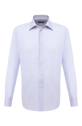 Мужская хлопковая сорочка CANALI голубого цвета, арт. N705/GR01591 | Фото 1