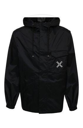 Мужская куртка kenzo sport KENZO черного цвета, арт. FB55BL5601NJ   Фото 1