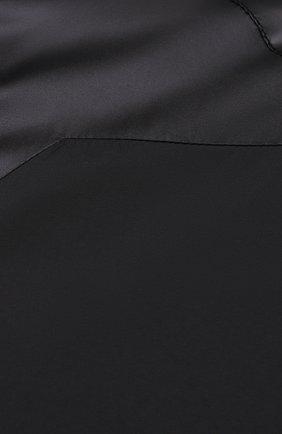 Мужской бомбер kenzo sport KENZO черного цвета, арт. FB55BL1511NG | Фото 5 (Кросс-КТ: Куртка; Рукава: Длинные; Принт: Без принта; Материал внешний: Синтетический материал; Стили: Спорт-шик; Материал подклада: Синтетический материал; Длина (верхняя одежда): Короткие)