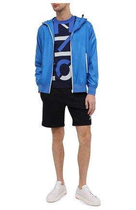 Мужской бомбер kenzo sport KENZO синего цвета, арт. FB55BL1511NG | Фото 2