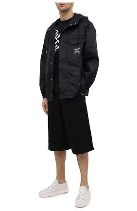 Мужская хлопковая футболка kenzo sport KENZO черного цвета, арт. FA65TS5024SJ | Фото 2