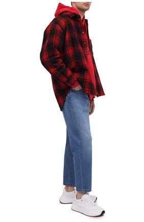 Мужская рубашка VETEMENTS красного цвета, арт. UE51SH950R 1211/M   Фото 2
