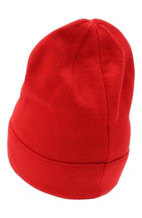 Мужская шапка из хлопка и кашемира GIVENCHY красного цвета, арт. GVCAPP/U2014   Фото 2