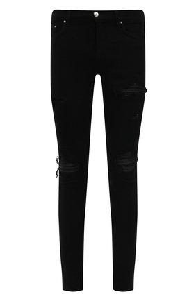 Мужские джинсы AMIRI черного цвета, арт. MDS005-001   Фото 1