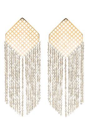 Женские серьги EXCLAIM золотого цвета, арт. 035G2604E   Фото 1