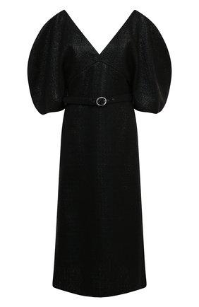 Женское платье KALMANOVICH черного цвета, арт. FW20K03 | Фото 1