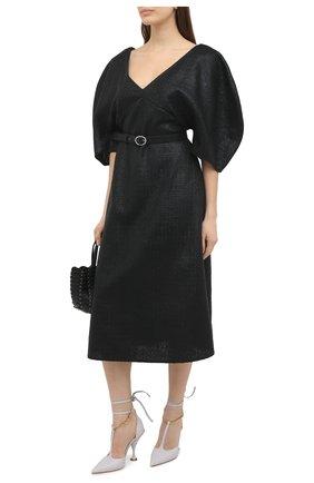 Женское платье KALMANOVICH черного цвета, арт. FW20K03 | Фото 2
