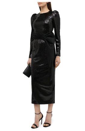 Женское платье с пайетками KALMANOVICH черного цвета, арт. FW20K23   Фото 2