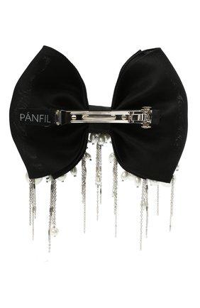 Женская бант PANFIL черного цвета, арт. Бант BlPrlD3 | Фото 2