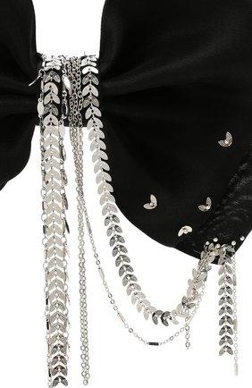 Женская бант PANFIL черного цвета, арт. Бант BlBrdS2 | Фото 3